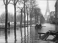 Paris flood in 1910